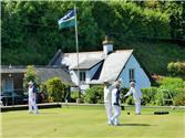 Porlock Bowls Club re-opens for limited bowling